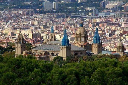 Barcelone, Panorama, Retour Au Début