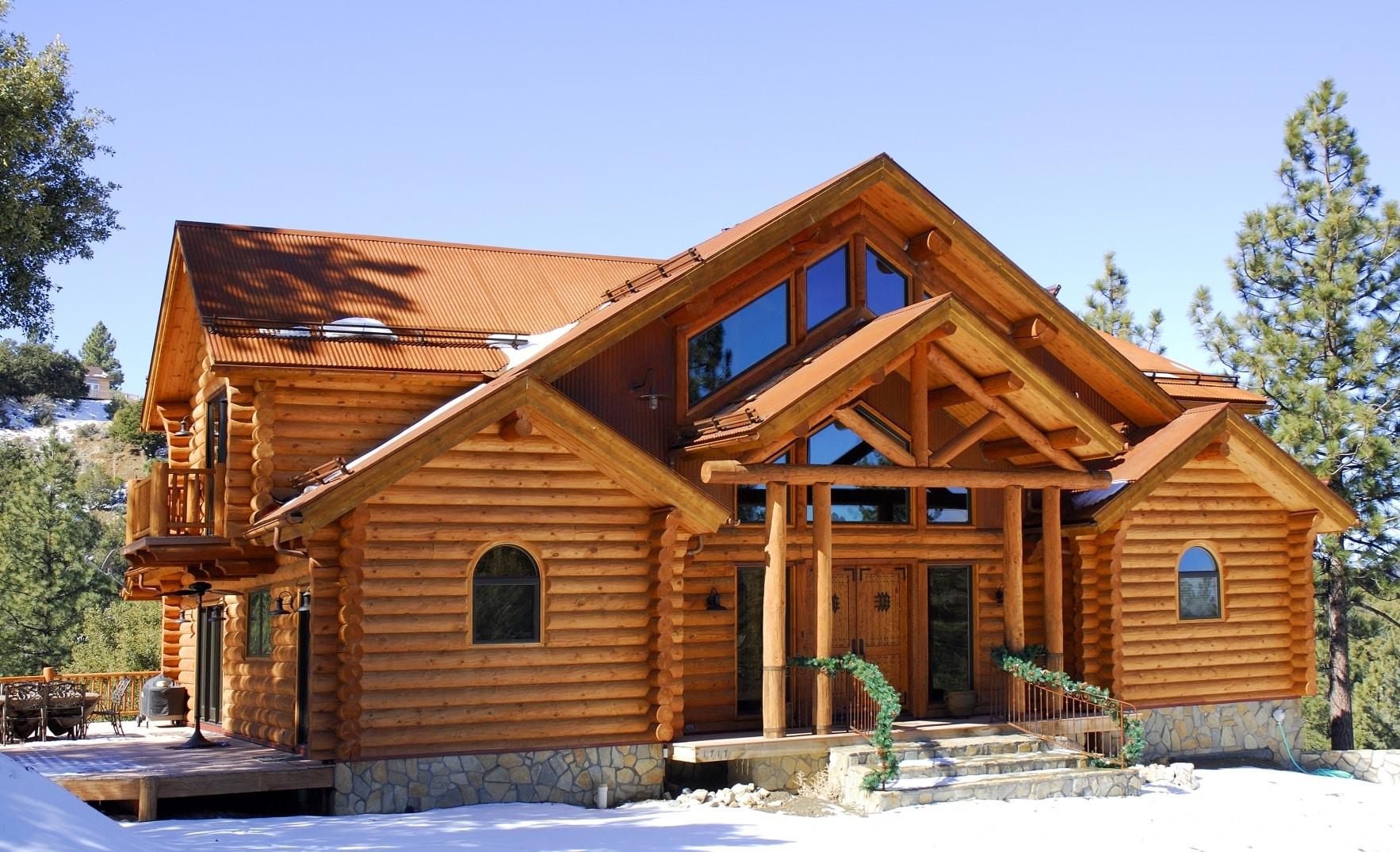 La résistance de la maison en bois