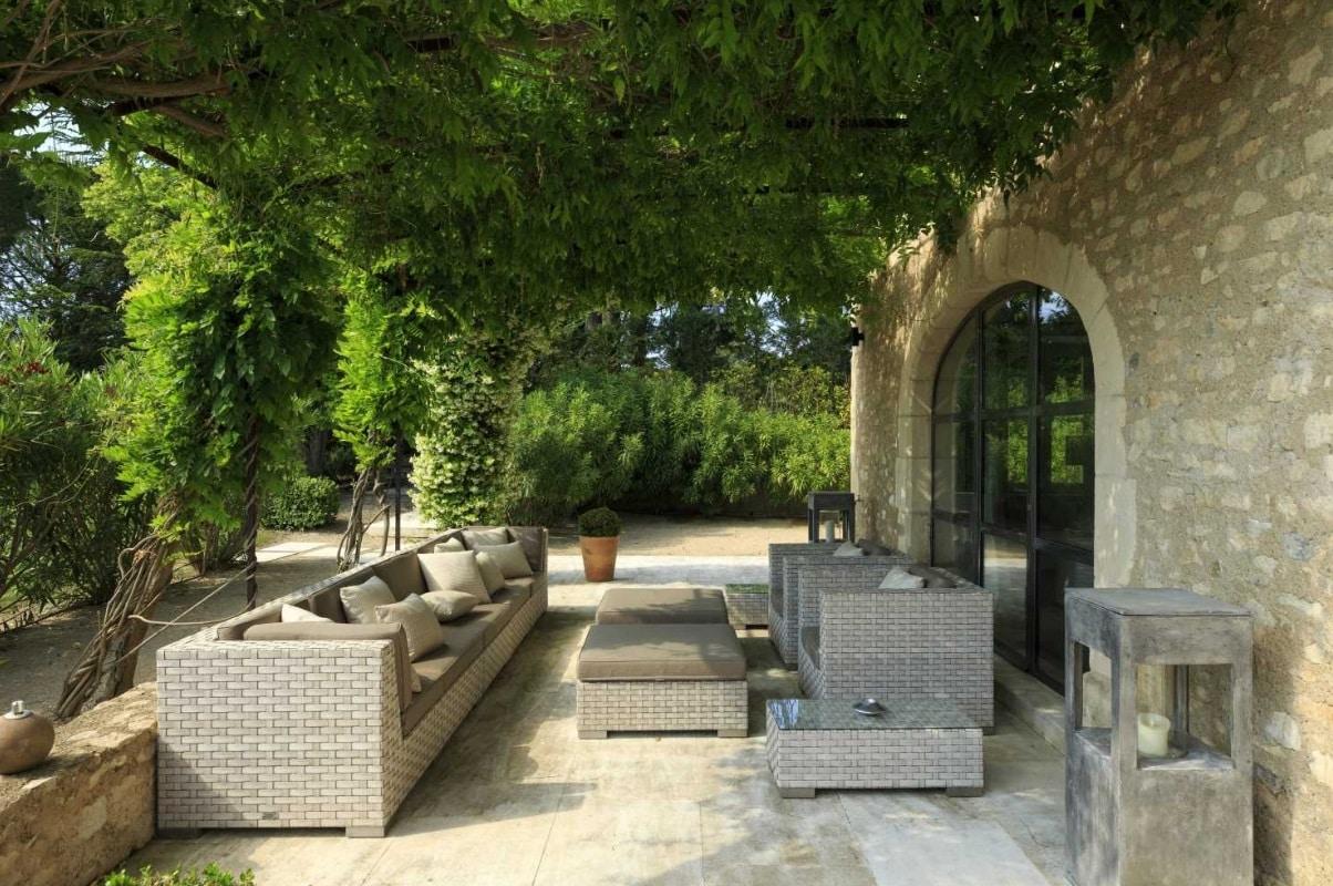 Un salon de jardin